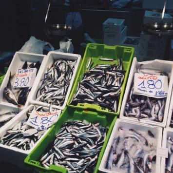 anchoas antxoas anxoves del cantabrico mercado riera baster bilbaon